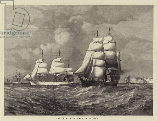 The China Telegraph Expedition (engraving)