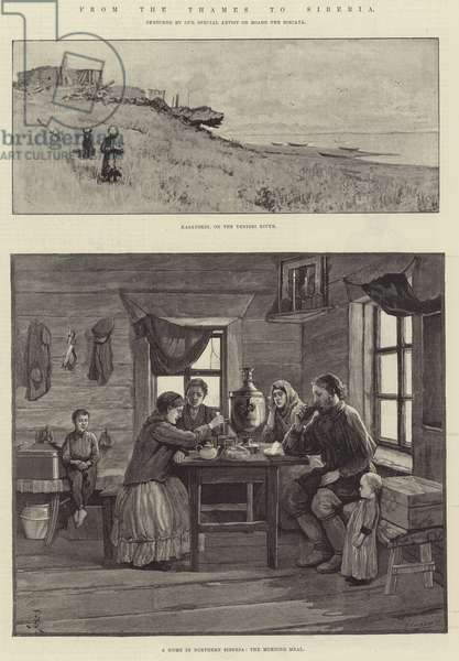 From the Thames to Siberia (engraving)