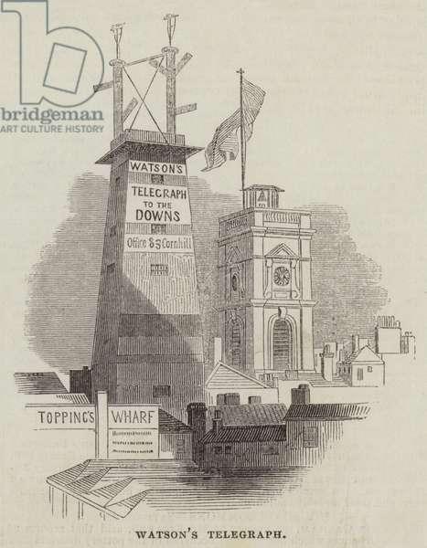 Watson's Telegraph (engraving)