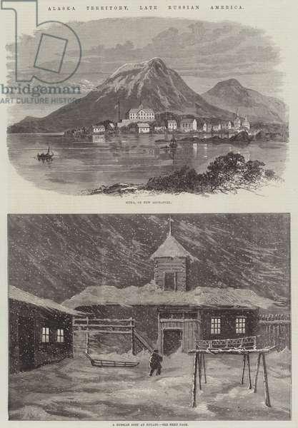 Alaska Territory, late Russian America (engraving)