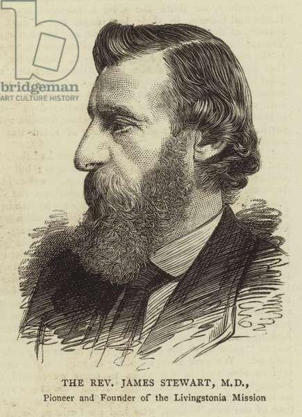 The Reverend James Stewart, MD (engraving)