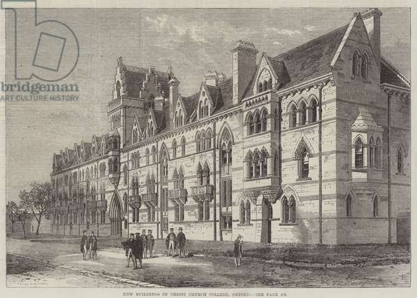 New Buildings of Christ Church College, Oxford (engraving)