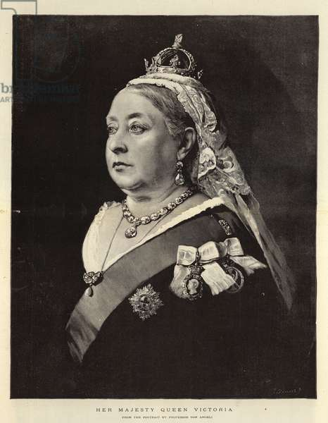 Her Majesty Queen Victoria (engraving)