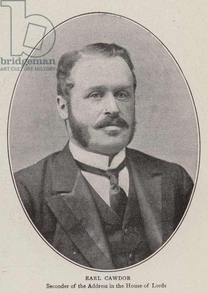 Earl Cawdor (b/w photo)