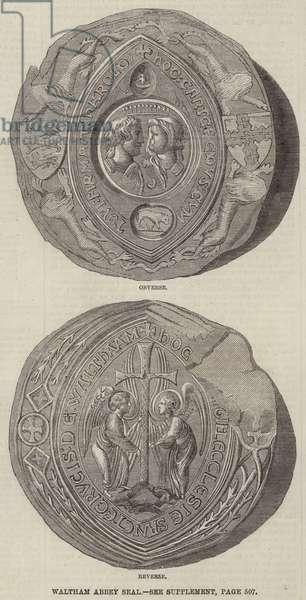 Waltham Abbey Seal (engraving)