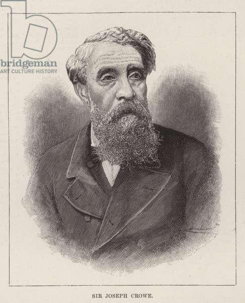 Sir Joseph Crowe (engraving)