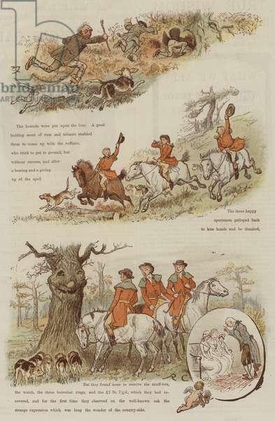 The Legend of the Laughing Oak (chromolitho)