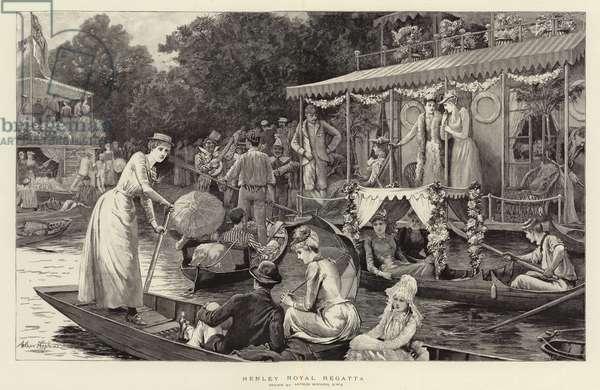 Henley Royal Regatta (engraving)