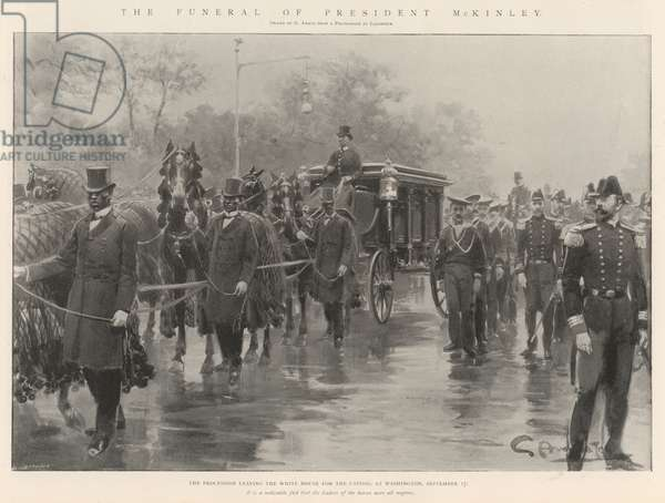 The Funeral of President McKinley (litho)
