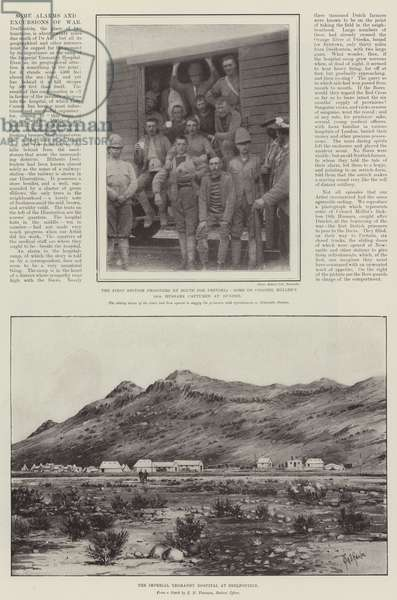 Some Alarms and Excursions of War (litho)