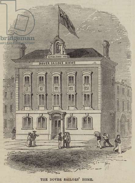 The Dover Sailors' Home (engraving)