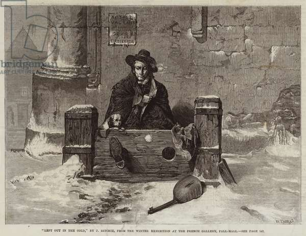Left Out in the Cold (engraving)