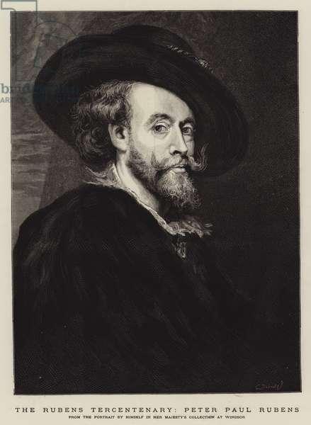 The Rubens Tercentenary, Peter Paul Rubens (engraving)