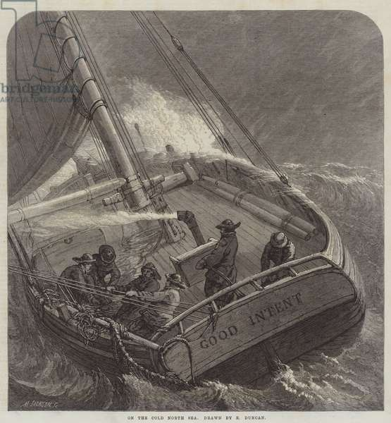 On the Cold North Sea (engraving)