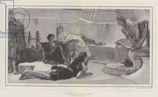 A Reading from Homer (engraving)