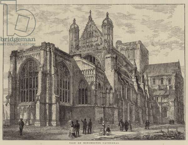 View of Winchester Cathedral (engraving)