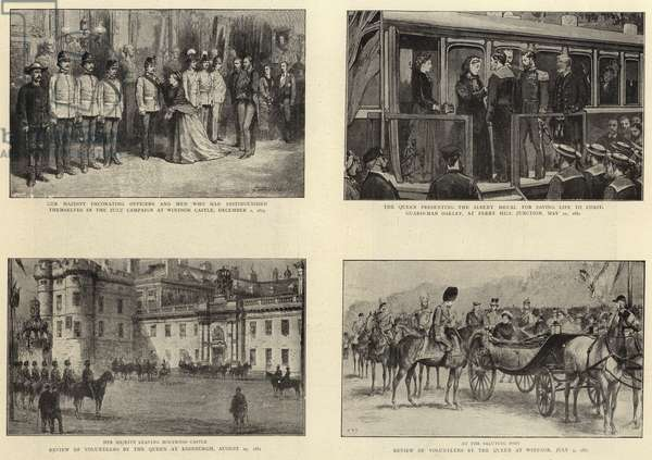 The Life of Queen Victoria (litho)