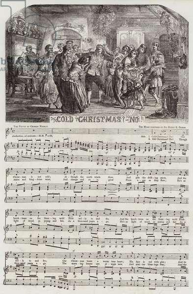Cold Christmas?-No! (engraving)