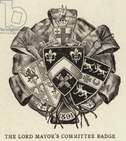 The Lord Mayor's Committee Badge (engraving)