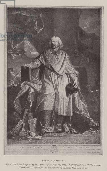 Bishop Bossuet (litho)