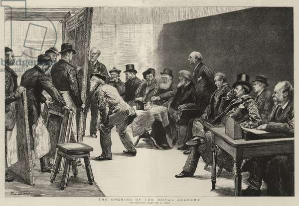 The Opening of the Royal Academy (engraving)