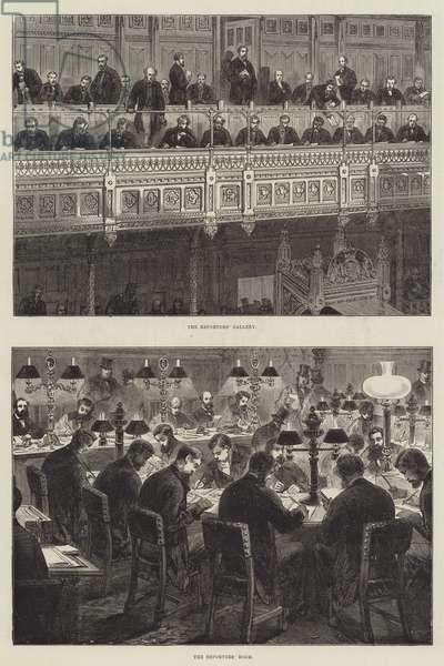 Parliamentary Procedure (engraving)