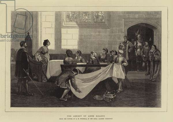 The Arrest of Anne Boleyn (engraving)