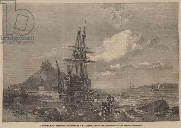 """Mount's Bay,"" Cornwall (engraving)"