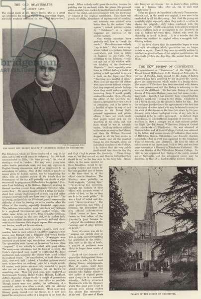 Bishop of Chichester (b/w photo)