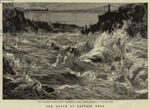 The Death of Captain Webb (engraving)