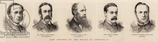 New Members of the House of Commons, V (engraving)