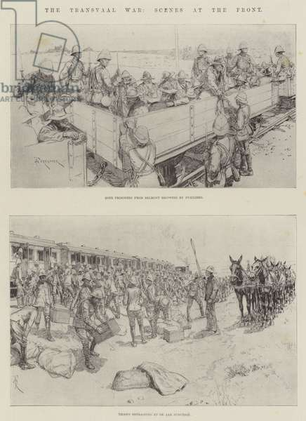 The Transvaal War, Scenes at the Front (litho)