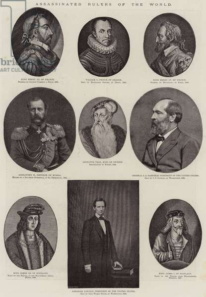 Assassinated Rulers of the World (litho)
