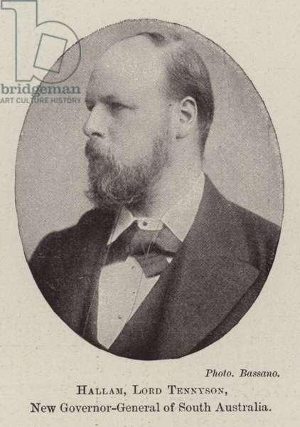 Hallam, Lord Tennyson, New Governor-General of South Australia (b/w photo)