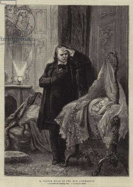 Illustration for The History of a Crime, by Victor Hugo (engraving)