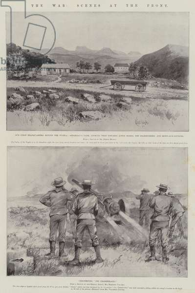 The War, Scenes at the Front (litho)