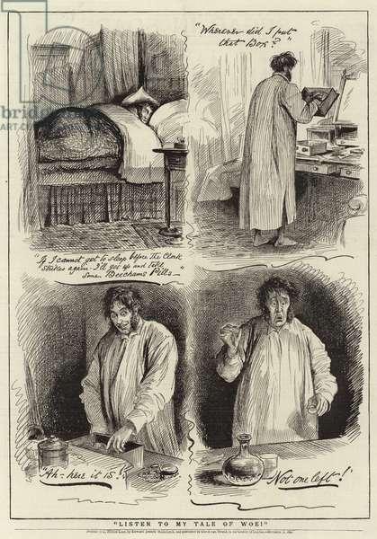 Advertisement, Beecham's Pills (engraving)