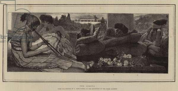 The Siesta (engraving)