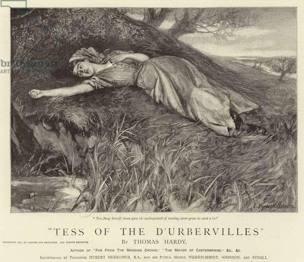 Tess of the D'Urbervilles (engraving)