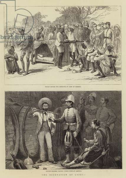 The Occupation of Cyprus (engraving)