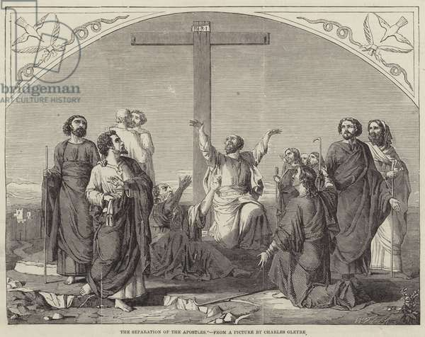 The Separation of the Apostles (engraving)