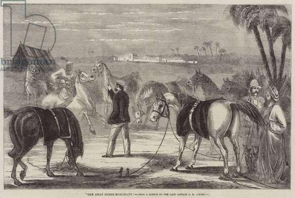 The Arab Horse-Merchant (engraving)