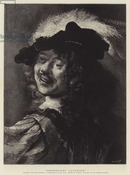 Rembrandt Laughing (engraving)