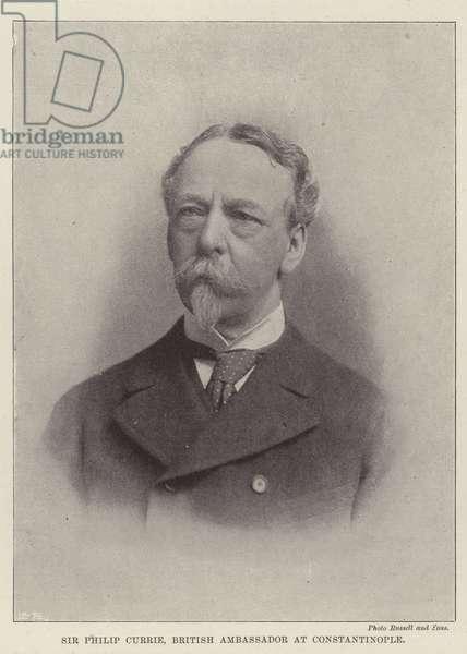 Sir Philip Currie, British Ambassador at Constantinople (b/w photo)