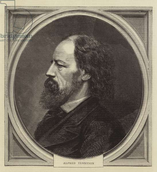 Alfred Tennyson (engraving)