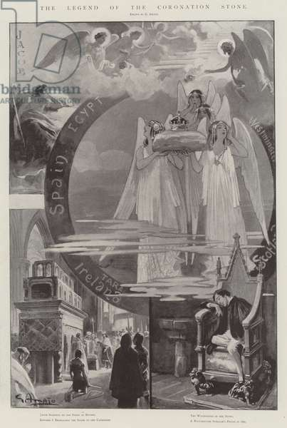 The Legend of the Coronation Stone (litho)
