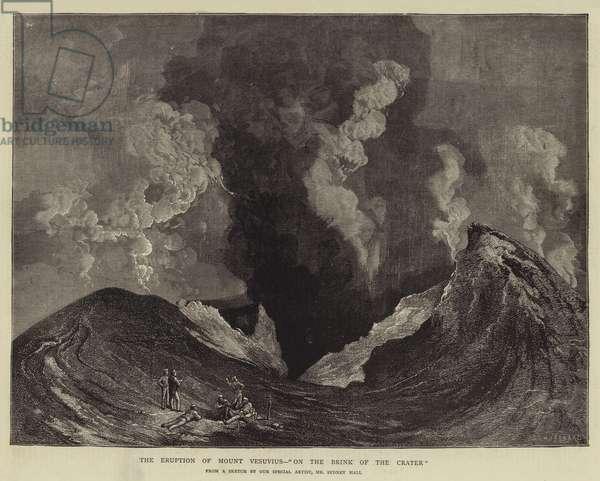 The Eruption of Mount Vesuvius,
