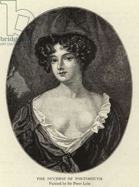 The Duchess of Portsmouth (engraving)