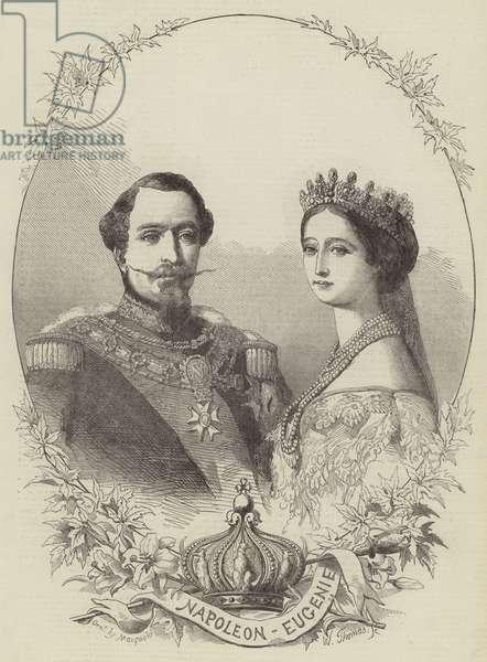 Napoleon and Eugenie (engraving)