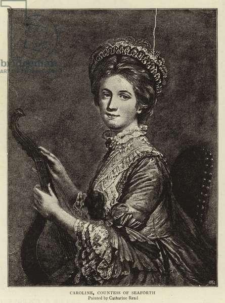 Caroline, Countess of Seaforth (engraving)
